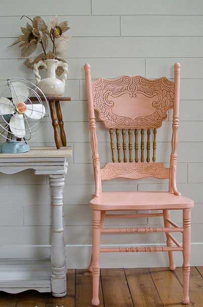cute rose chair