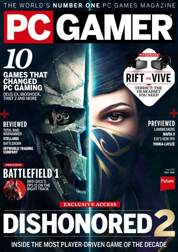 PC+Gamer+Magazine