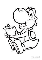 Malvorlagen yoshi - Ausmalbilder für kinder Mario