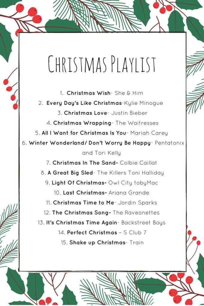 Christmas Playlist by Pop Fizz Confetti