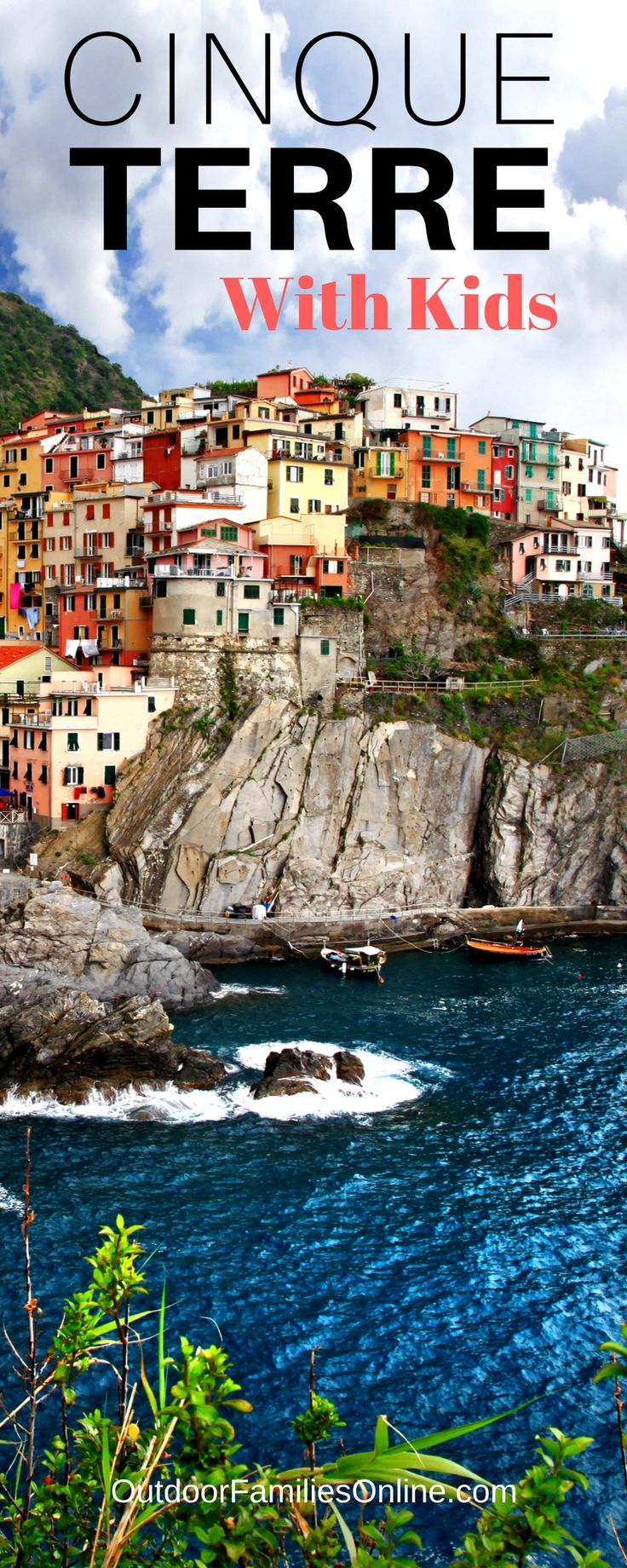Hiking Italy's Cinque Terre is a delightful way to introduce kids to the region's history while staying active and viewing beautiful scenery.