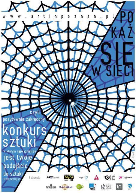 'Pokaż się w sieci' art contest and our poster