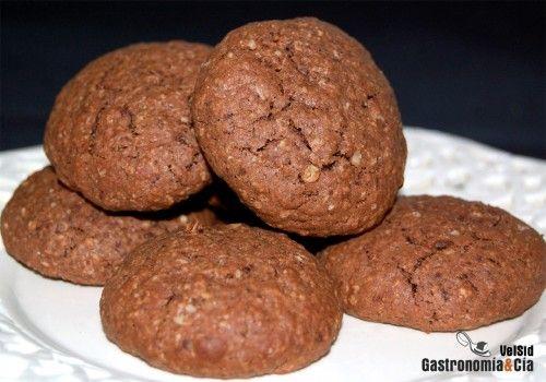 Galletas de avena y chocolate: Chocolate, Sweet Recipes