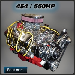 Chevy performance crate engines, Chevy crate motors, GM Engines, Muscle car engines - customcrateengines.com