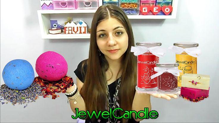 JewelCandle ♥ Le Candele Profumate con Gioielli in Argento ♥