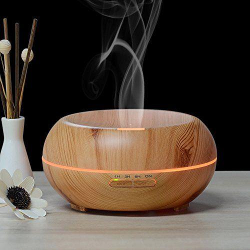 $37.99 InnoGear 200ml Aromatherapy Essential Oil Diffuser- Wood Grain InnoGear