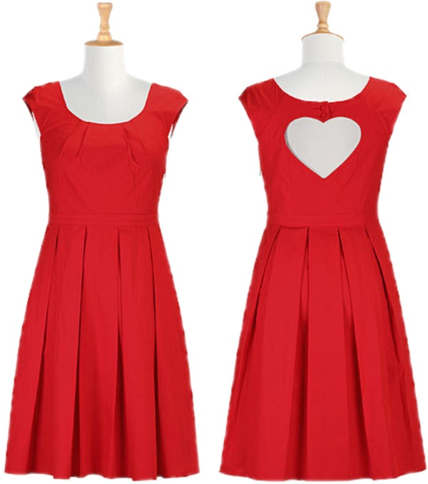 Valentine's Dress: Dress Valentinesred, Hearts Simple, Valentinesred Hearts, Valentine Special