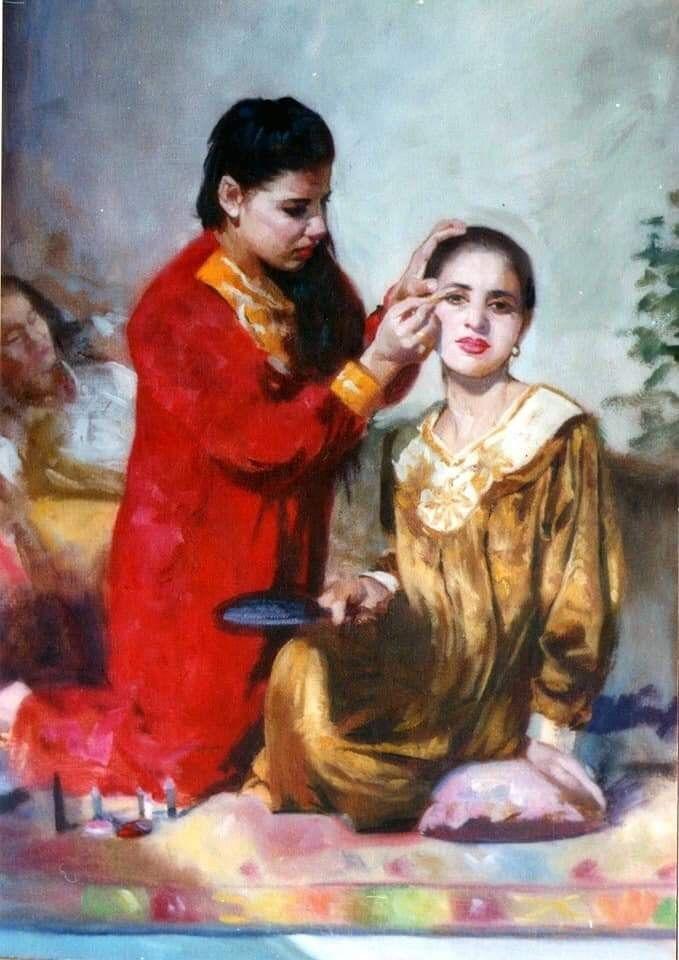 للفنان التشكيلي العراقي فاضل عباس