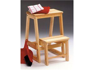 Folding Step Stools for Adults | Wood Step Stool In Beech  sc 1 st  Pinterest & 34 best Stepstool images on Pinterest | Step stools Wooden steps ... islam-shia.org