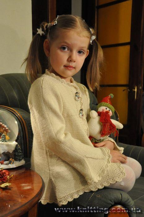 Кардиган от Натальи Пелых - Жакеты.Пуловеры.Свитера - Страна рукоделия