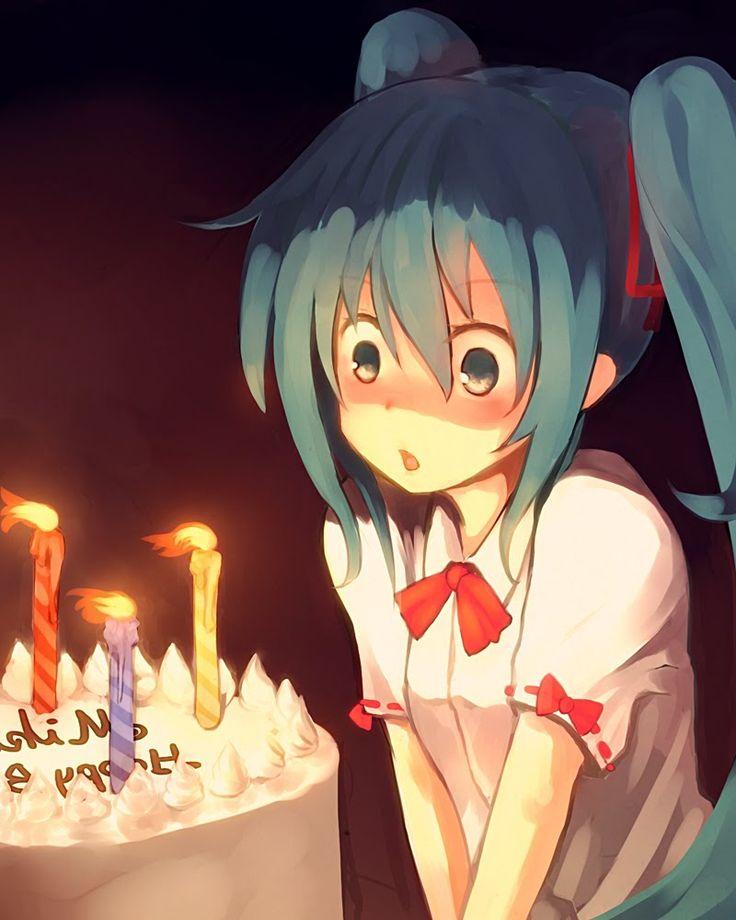 31.08.2014 Happy Birthday, Mikusan! Anime Pinterest