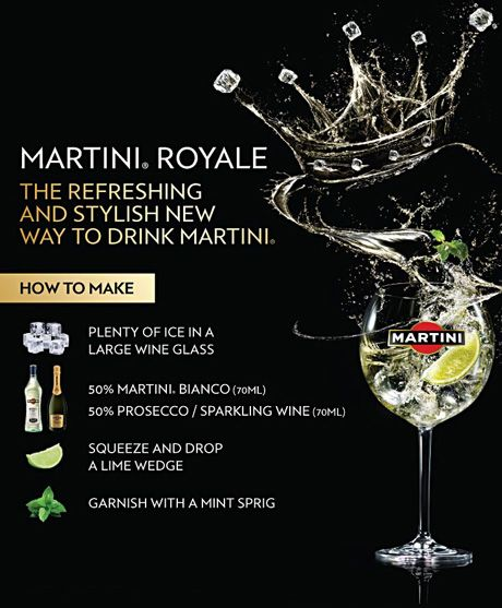Something new from MARTINI… the MARTINI Royale - Martini - Life & Style - London Evening Standard