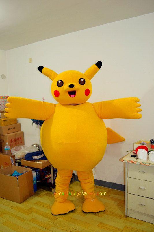 Pikachu Mascot Costume for 2014 Halloween, Halloween Mascot Costumes