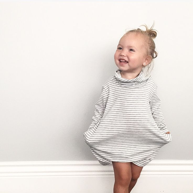 Bamboo infant/toddler dress with pockets