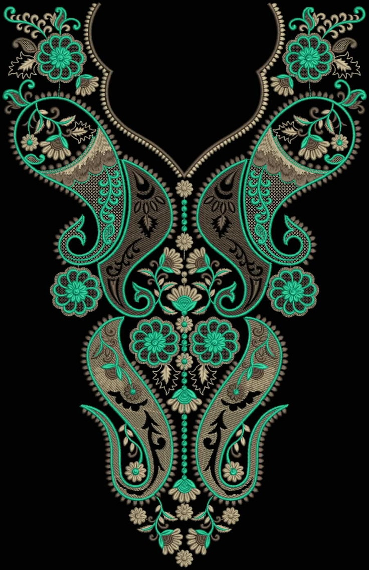 Latest Embroidery Designs For Sale, If U Want Embroidery Designs Plz Contact (Khalid Mahmood, +92-300-9406667)  www.embroiderydesignss.blogspot.com  Design# Loker16
