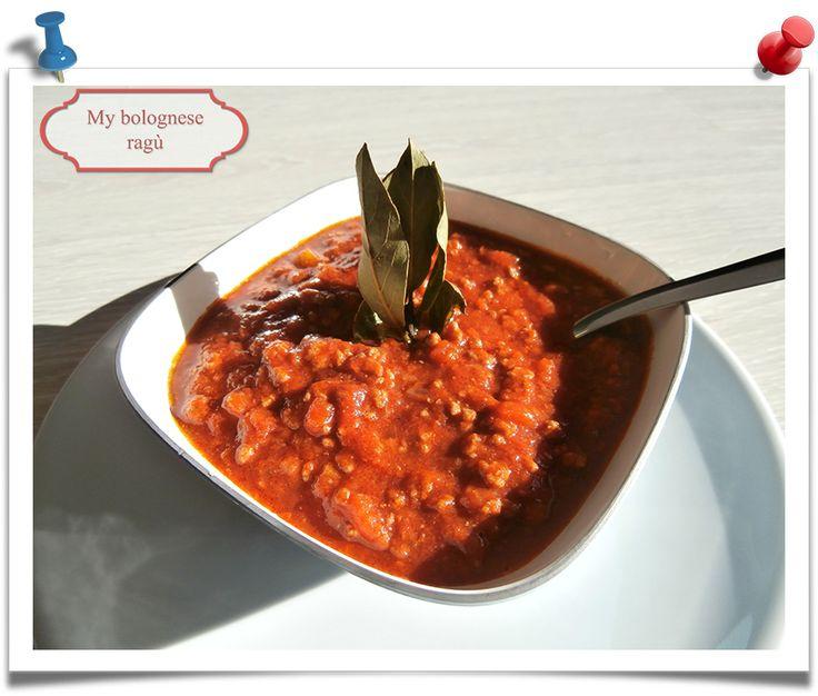 Imparare l'Arte della Cucina Quotidiana: My Bolognese sauce recipe