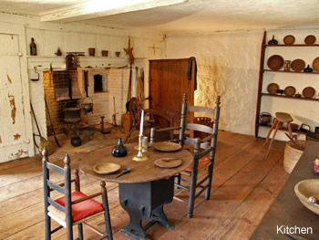Buttolph Williams House ... colonial kitchen