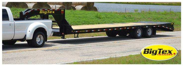 """40 foot """"gooseneck"""" flatbed trailer"""