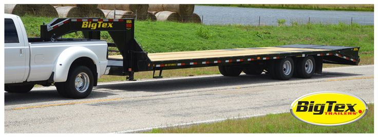 "40 foot ""gooseneck"" flatbed trailer"
