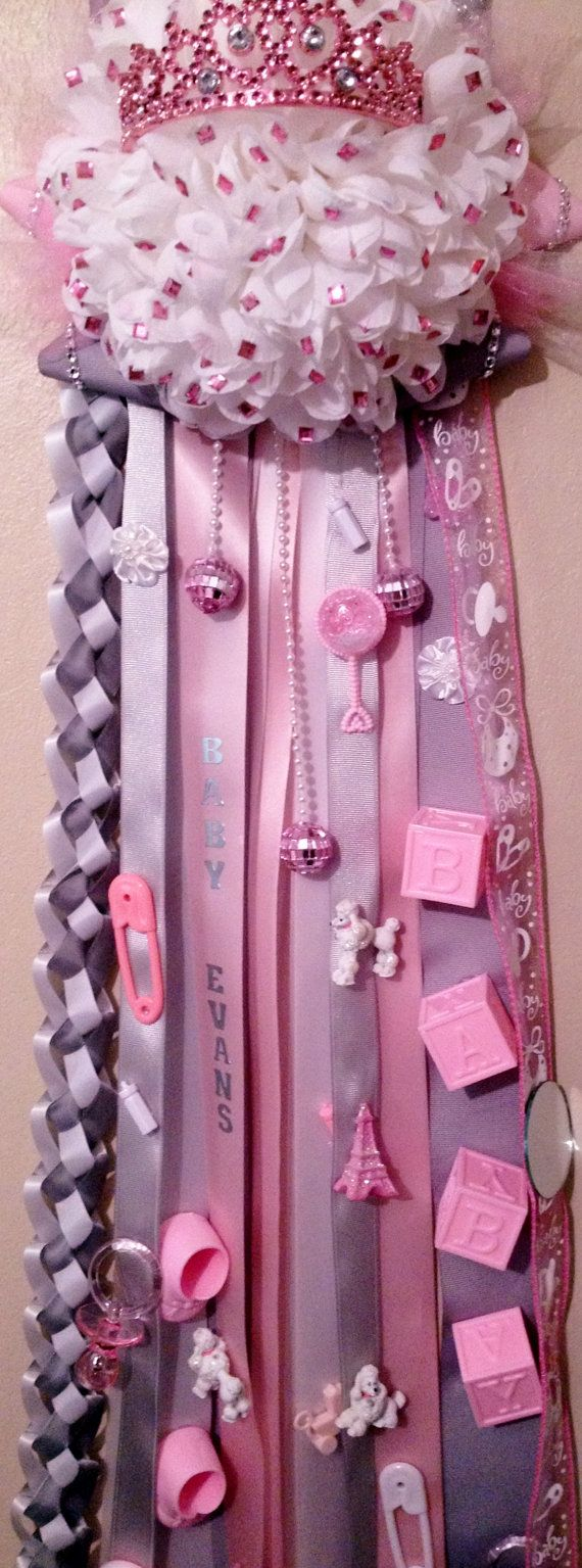 Hey, I found this really awesome Etsy listing at https://www.etsy.com/listing/163980362/parisian-pink-gray-baby-mum