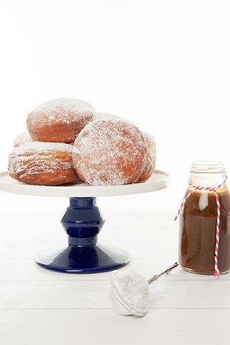 Donuts with Salted Caramel