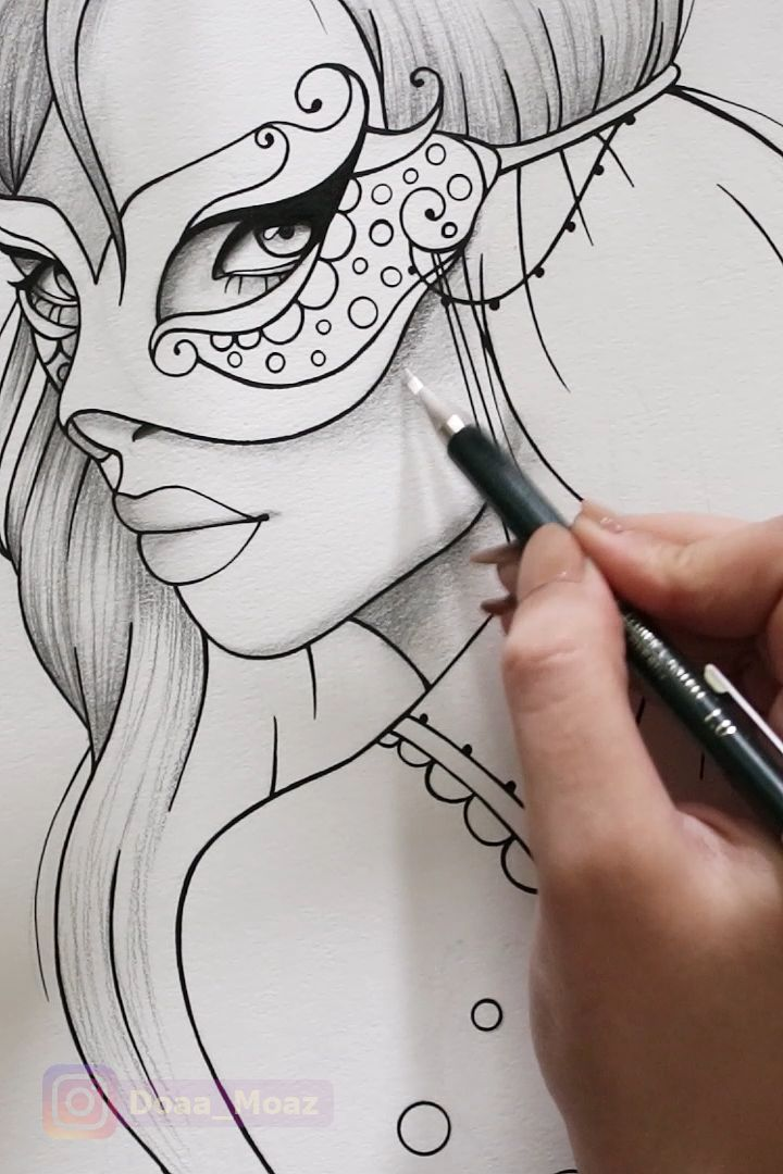 Coloring page ♥ – Sonja