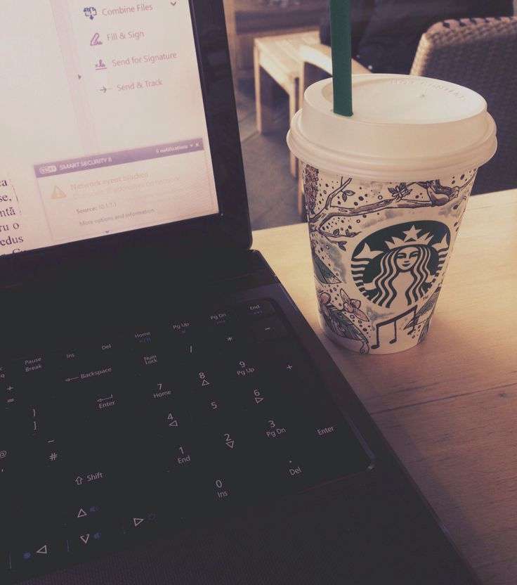 Lovely day for work in Cluj Napoca! Of course, with great coffe near you! #starbucks #ilovecluj