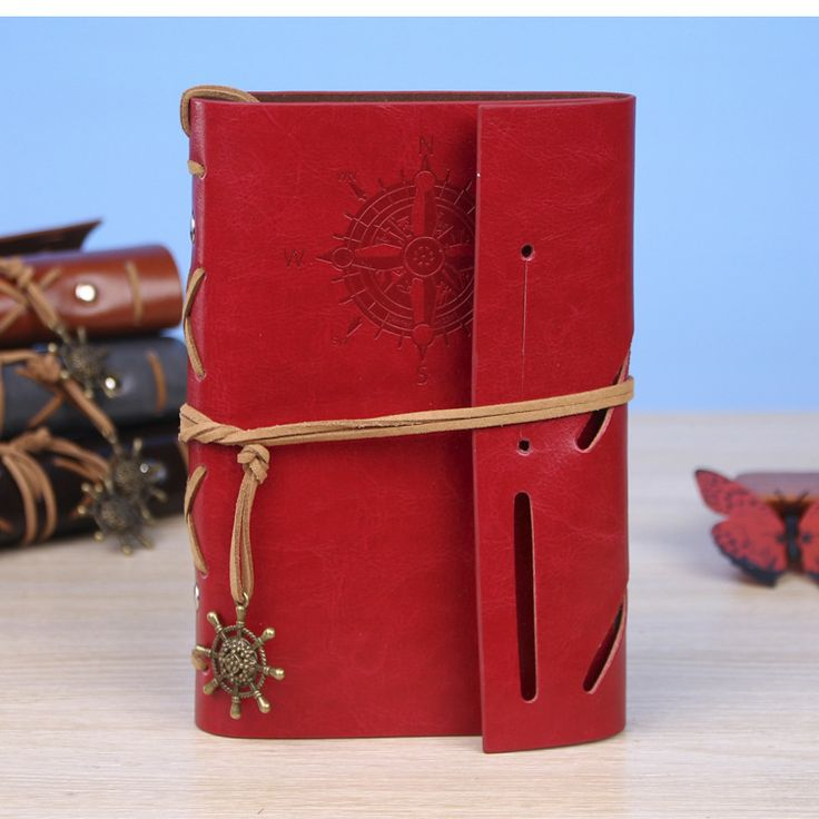 2017 planner notebook penalty Pirate Originality Notebook Stationery Retro Travel Leather Sheets Notepad Kraft Paper agenda
