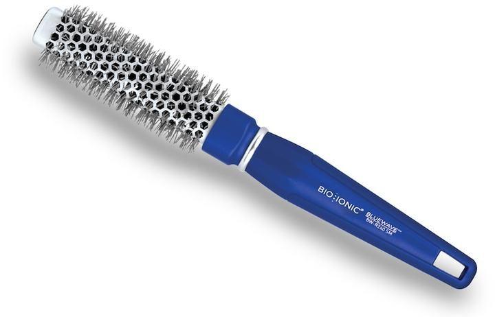 """Bio Ionic BlueWave NanoIonic Conditioning 1"""" Square Round Hair Brush"""