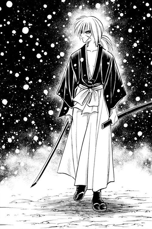 """""""Rurouni Kenshin"""" - Kenshin Himura #ruroken #manga #watsuki #rurounikenshin"""