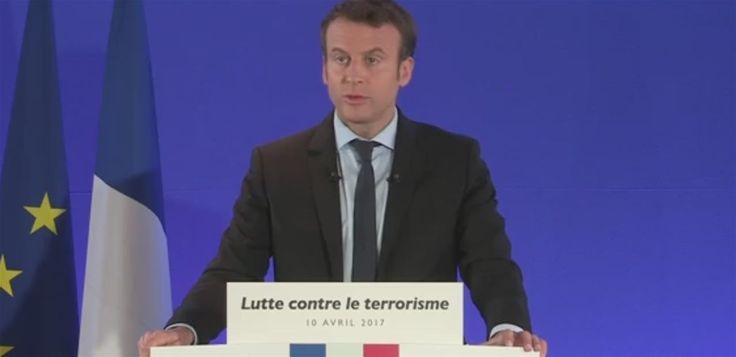⭐️ Emmanuel Macron en Marche contre le terrorisme (et le chiffrement)