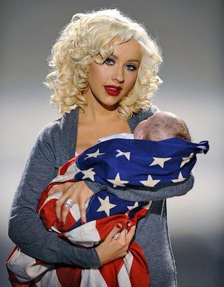 christina aguilera's son   Christina Aguilera