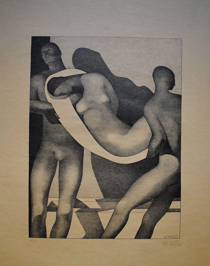 Adolfo Wildt (Italia, March 1, 1868 – March 12, 1931) Deposizione 1929