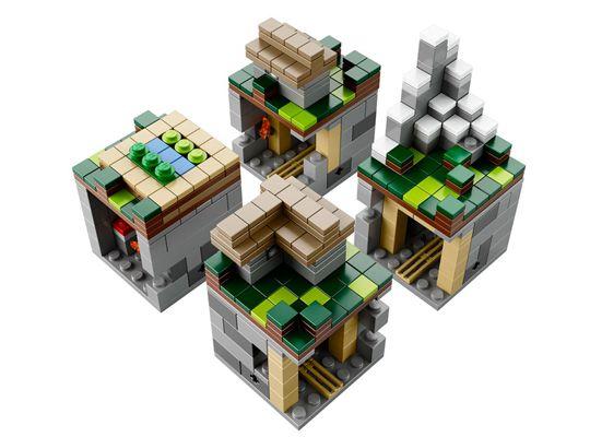 J!NX : LEGO Minecraft The Village
