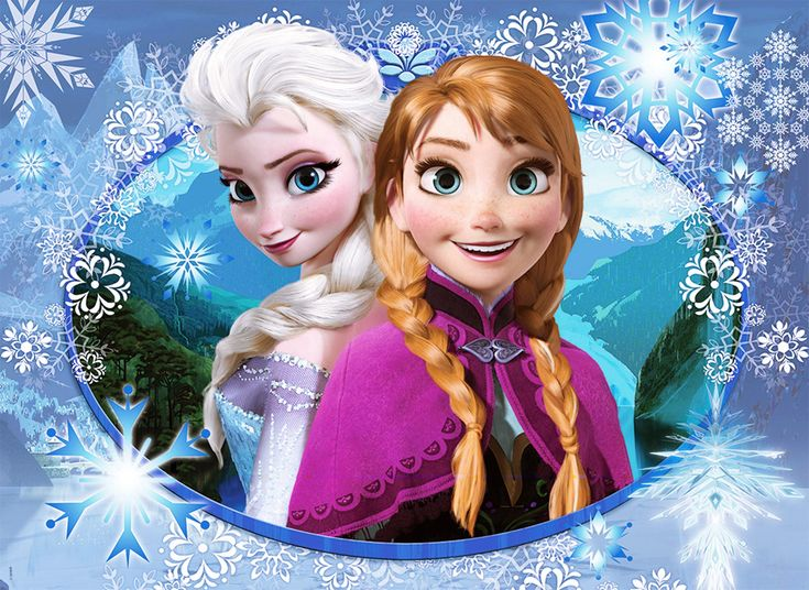 Reina Elsa y Princesa Anna