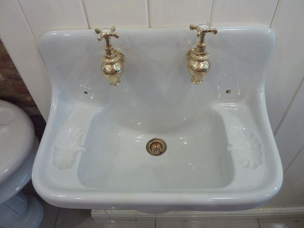 French Cloakroom Basin C.1900