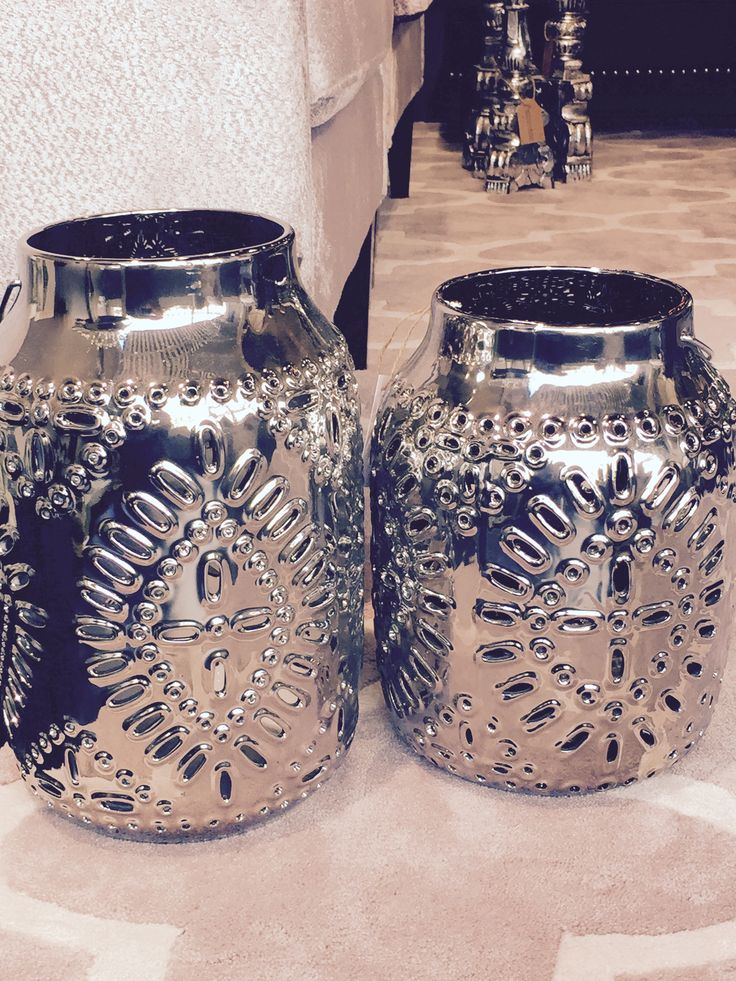 These ceramic and chrome finish lanterns reflect light beautifully on our walls. http://www.instylemelbourne.com We ship almost everywhere : )
