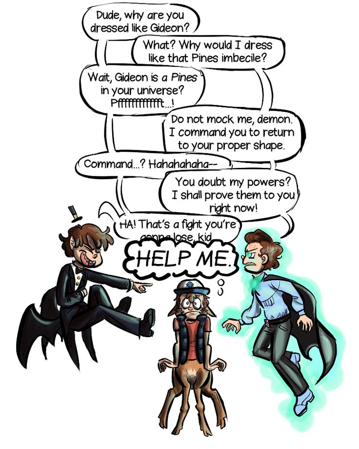 at first i thought the guy on the left was Bipper, but it turns out he is from the Transcendence AU. i think...