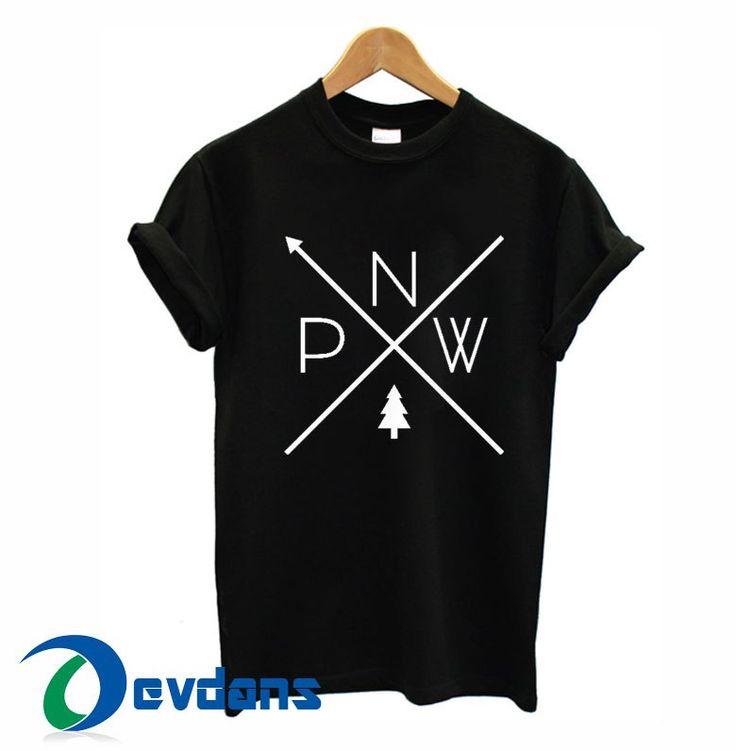 Pacific Northwest Pride PNW T-shirt men, women adult unisex size S to 3XL