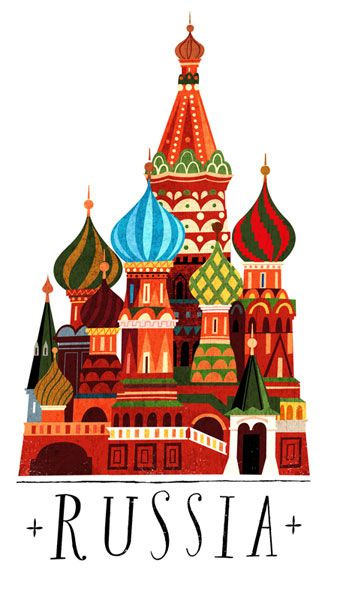 Russia by Jamey Christoph (designed for Mudpuppy Galison)