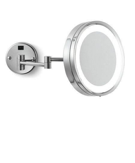 Blush Wall Mount Makeup Mirror rendering, master ensuite
