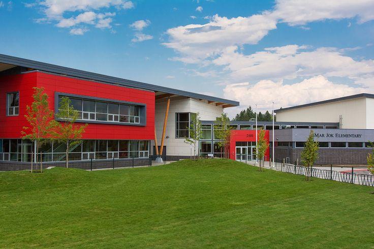 Mar Jok Elementary School, Toronto. Thinkspace architecture. EQUITONE facade materials. equitone.com