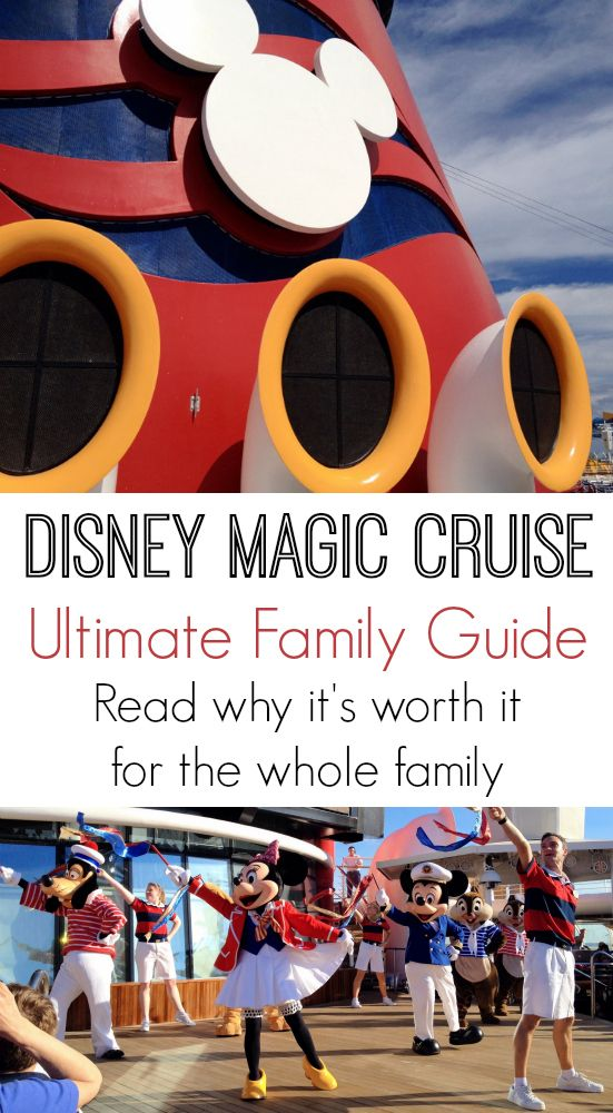 The Ultimate Family Guide to a Disney Magic Cruise (for grandparents, parents, teens, and kids alike)