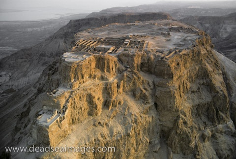 Masada, Dead Sea, Israel...best view of the Dead Sea from the top!