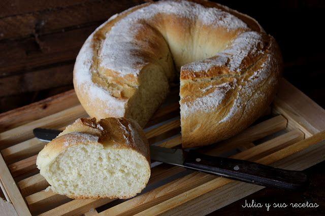 JULIA Y SUS RECETAS: Rosca de pan en pirex