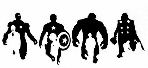 Marvel Avengers Silhouette Thor Hulk Ironman Capt America Vinyl Decal Image Die Cut Sticker Diamondxdecals http://www.amazon.com/dp/B00KCIXP7A/ref=cm_sw_r_pi_dp_5hYIwb00FSGS1