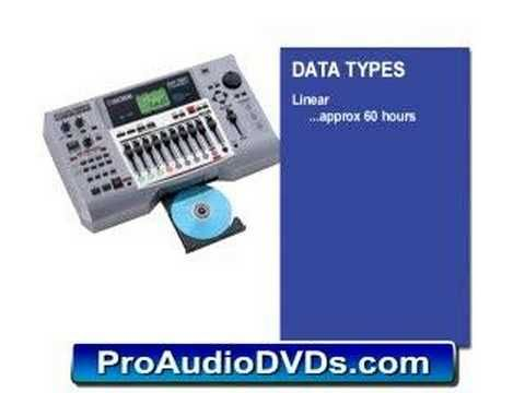 Roland (Boss) BR-1180 DVD Video Tutorial Demo Review Help