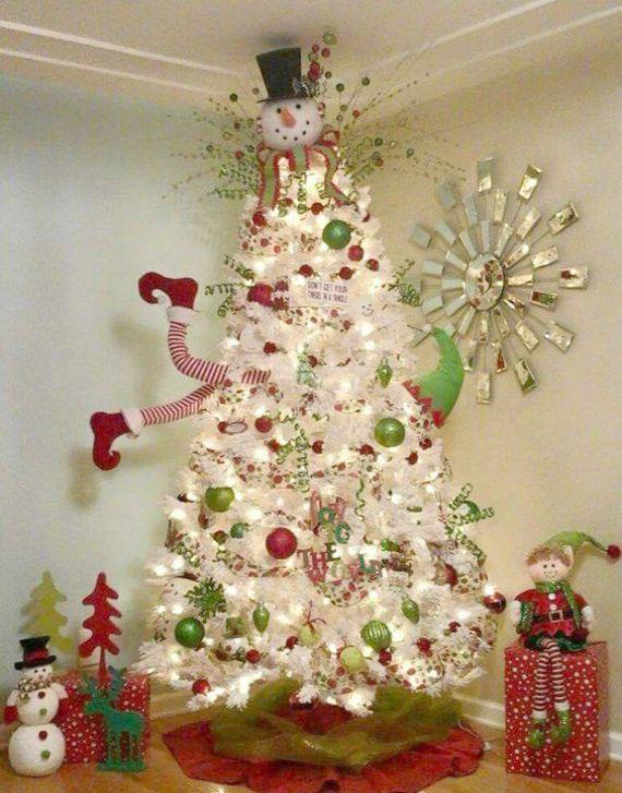 Christmas Tree Skirt Felt Kit Nor Artificial Christmas Trees Canada Deals Fun Christmas Decorations Cool Christmas Trees Christmas Decorations For Kids