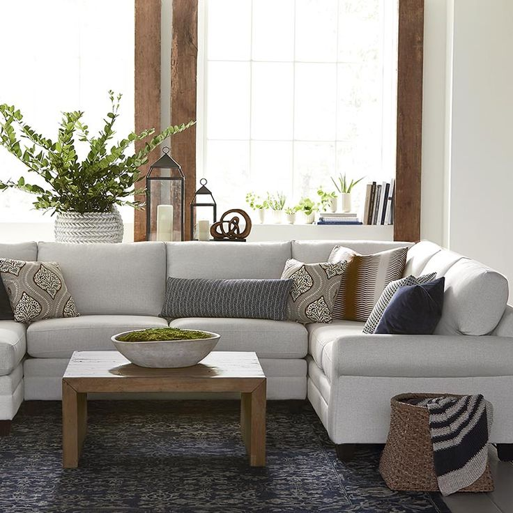 25+ Best Ideas About U Shaped Sectional On Pinterest