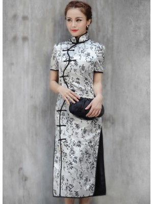 Ankle-length Cheongsam / Qipao / Chinese Dress http://www.mkspecials.com/ http://www.kickscenter.com